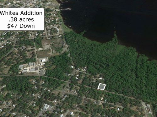 .38 Acre Minutes To St Johns River : Palatka : Putnam County : Florida