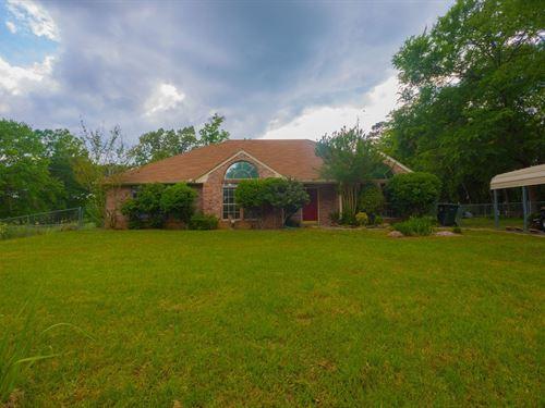 Country Home Sabine Isd 1.24 Acres : Kilgore : Gregg County : Texas