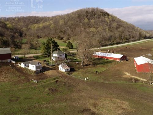 Turn-Key Organic Poultry Farmland : Viola : Vernon County : Wisconsin