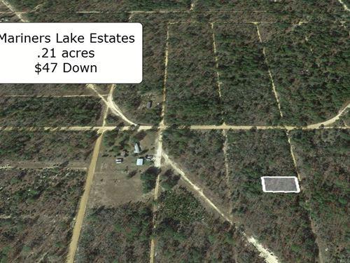 .21 Acre In Mariners Lake Estates : Interlachen : Putnam County : Florida