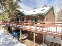 Wooded Privacy On Pike Lake : Fifield : Price County : Wisconsin