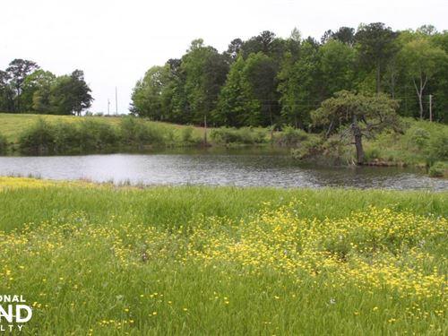 Smith Lake Agriculture/Farm Land : Bremen : Cullman County : Alabama