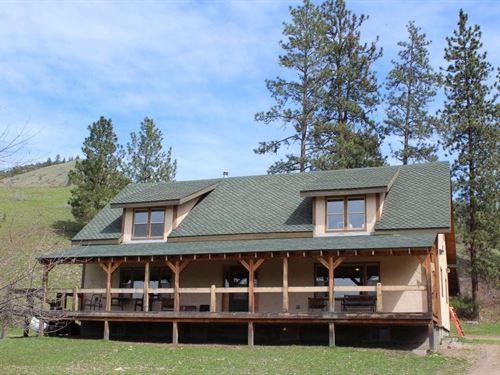 Montana Farmhouse On 160 Acres : Plains : Sanders County : Montana