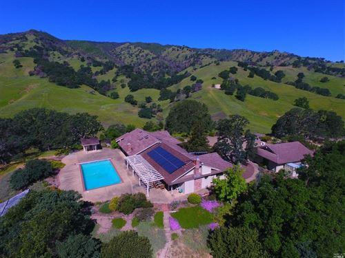 Northern California Country Home 41 : Vacaville : Solano County : California