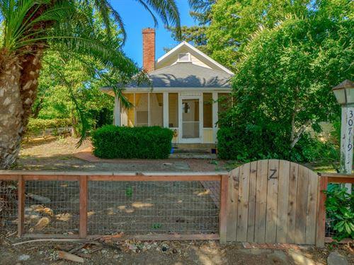 N CA Country Property Walnut : Winters : Yolo County : California