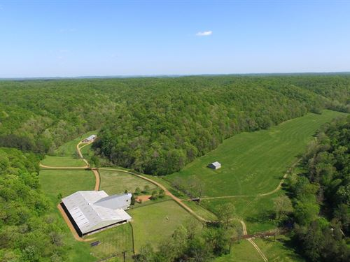 3876 Acres / Improvements : Franklin : Williamson County : Tennessee