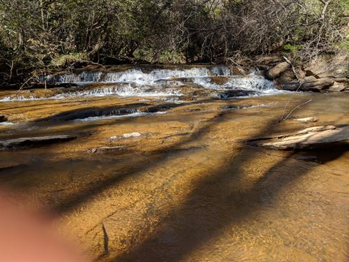 25+/- Acres On Metcalf Creek : Ashland : Clay County : Alabama