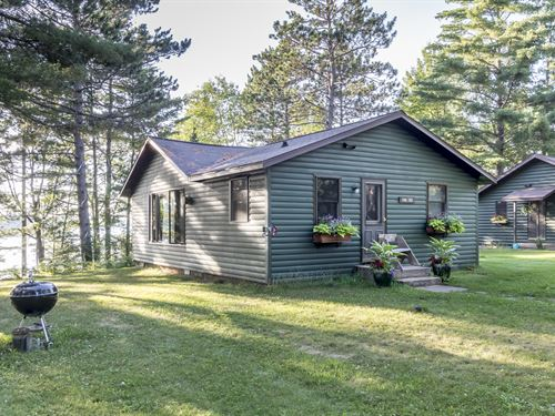 2 Cabins On Plum Lake : Plum Lake : Vilas County : Wisconsin