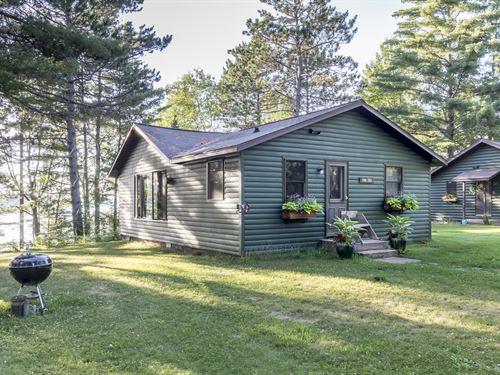 2 Cabins On Plum Lake : Plum Lake : Vilas County : Wisconsin
