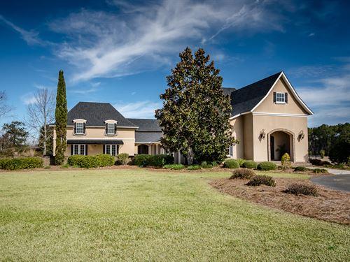 Beautiful Home With Land : Hahira : Lowndes County : Georgia
