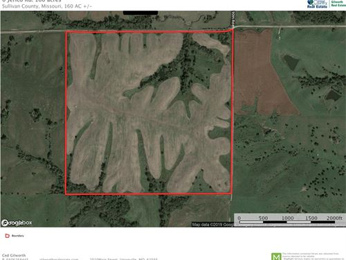 Hay/Pasture Farm Northwest Sullivan : Milan : Sullivan County : Missouri