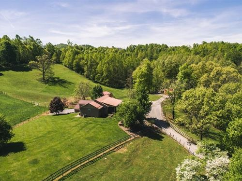 Updated Country Home Views Farm : Abingdon : Washington County : Virginia