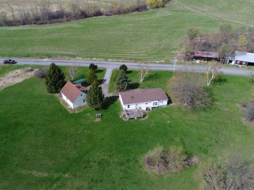 Country Getaway House & Garage : Sharon Springs : Schoharie County : New York