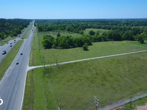 US 59 Commercial Property : Livingston : Polk County : Texas