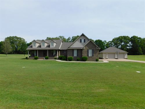 4 Bedroom Home Pool & Shop : Adamsville : Hardin County : Tennessee