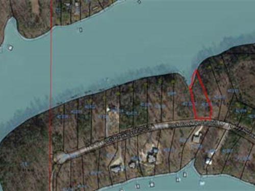Lake Front Lot, Smith Lake : Arley : Winston County : Alabama