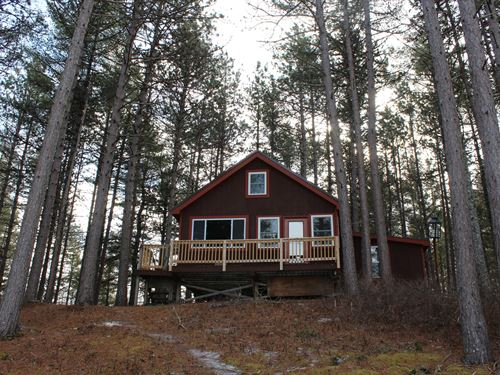 Lakefront Camp in Wesley, Maine : Wesley : Washington County : Maine