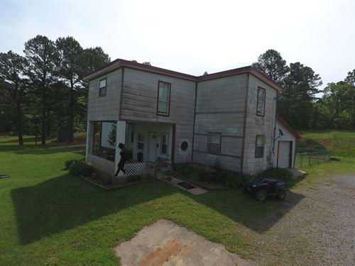 Home 25.3 Acres Wilburton OK 74578 : Wilburton : Latimer County : Oklahoma