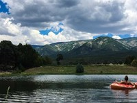 Elk Park Ranch : Capitan : Lincoln County : New Mexico