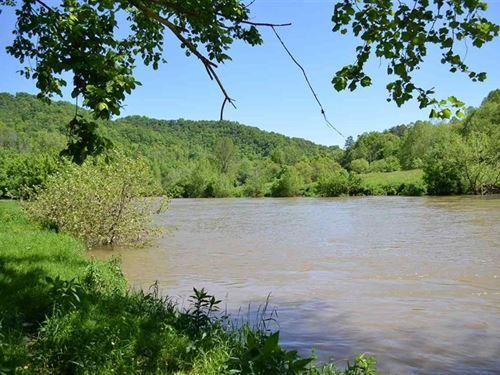 Riverfront Acreage Sneedville, TN : Sneedville : Hancock County : Tennessee