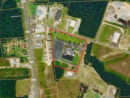 Industrial Commercial Site 10 Ac Nc : Windsor : Bertie County : North Carolina