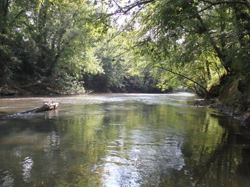 25+/- Acres On Ohatchee Creek : Ohatchee : Calhoun County : Alabama
