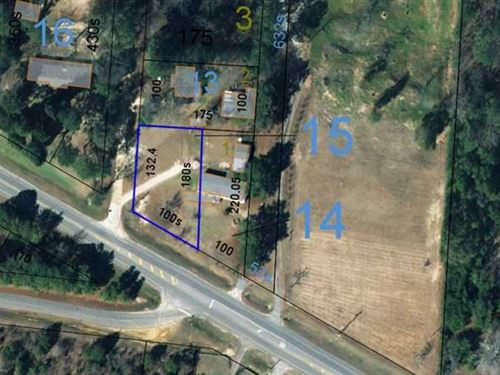 Residential Lot in Eufaula, Al-Lot : Eufaula : Barbour County : Alabama
