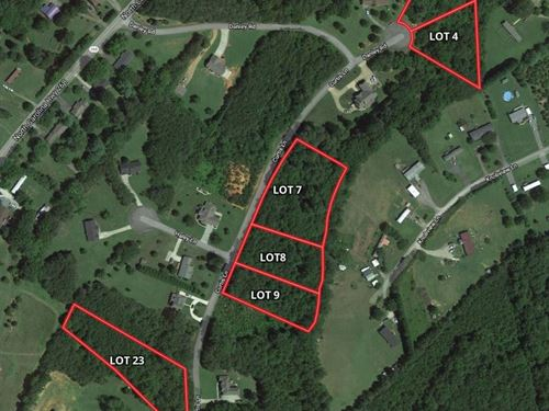 Land For Sale in Pilot Mountain NC : Pilot Mountain : Stokes County : North Carolina