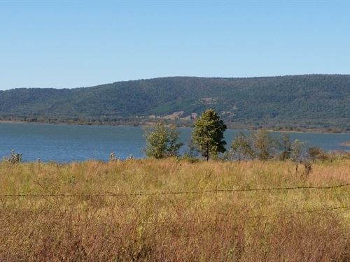 Homesite On Lake Sardis : Clayton : Pushmataha County : Oklahoma