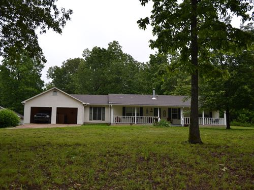 Hobby Farm With Nice Home For Sale : Mammoth Spring : Sharp County : Arkansas