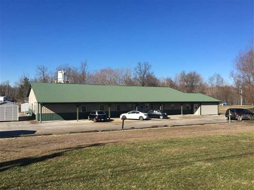 Custom Inlay Building, 2 Flex Use : Caneyville : Grayson County : Kentucky