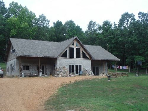 Large Custom Built Home Missouri : Doniphan : Ripley County : Missouri