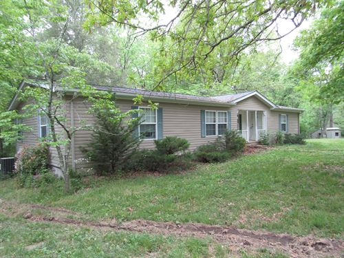 5+ Acres, Home, 38X48 Shop-Garage : Crossville : Cumberland County : Tennessee