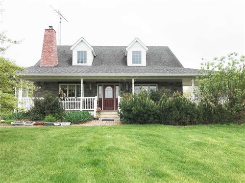 4.5 Acres M/L With 3Br/2Ba Acreage : Bloomfield : Davis County : Iowa