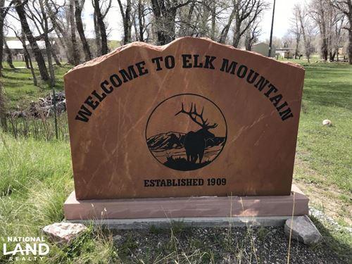 Elk Mountain Sunrise : Elk Mountain : Carbon County : Wyoming