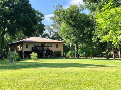 Suwannee Riverfront 3/2 Split Plan : Mayo : Lafayette County : Florida