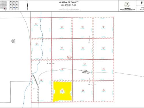 39.94 Acres Humboldt County, Nv : Golconda : Humboldt County : Nevada