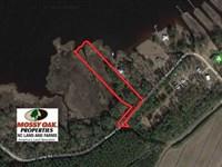 2.76 Acres of Residential Waterfro : Merritt : Pamlico County : North Carolina