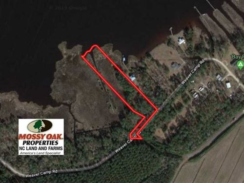 Reduced, 2.76 Acres of Residentia : Merritt : Pamlico County : North Carolina