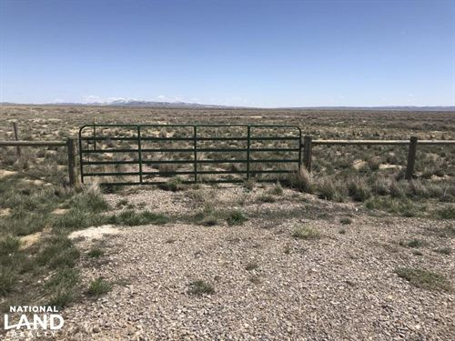 Separation Flats : Rawlins : Carbon County : Wyoming