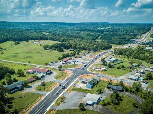 Great Business Location Corner : Clinton : Van Buren County : Arkansas