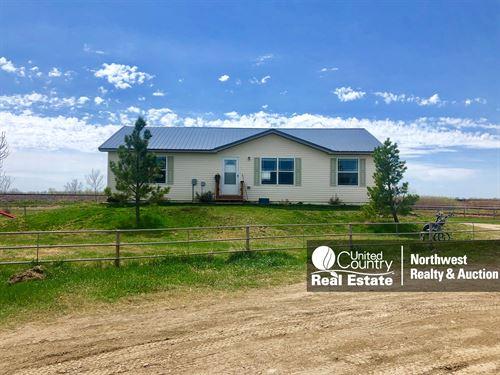 Malta MT Home & Shop Irrigated : Malta : Phillips County : Montana