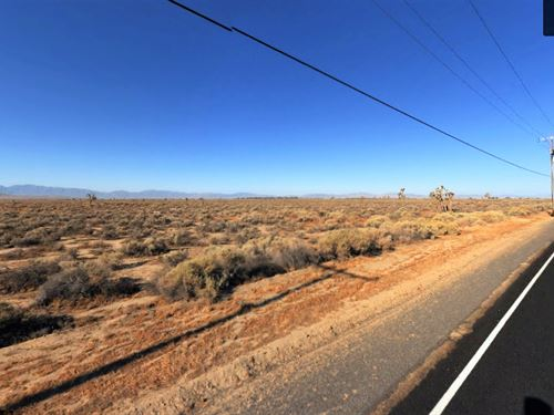 Spacious Homesite + Road + Electric : Lancaster : Los Angeles County : California
