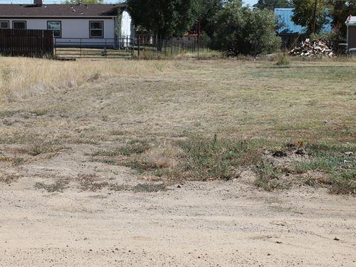 5 Lots On Aguilar's North West Side : Aguilar : Las Animas County : Colorado