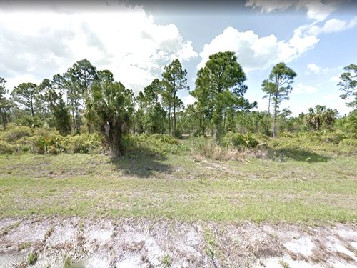 Canal / Creek Front Investment Lot : North Port : Sarasota County : Florida