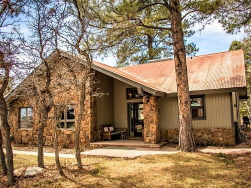 Golf Course Home In The Pines : Pagosa Springs : Archuleta County : Colorado