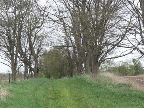 122 Acre Farm in Jackson County : Jackson : Michigan