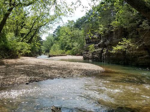 Creek Front Home & Land Carroll : Berryville : Carroll County : Arkansas