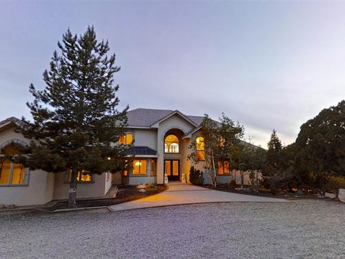 Exquisite French Country Estate : Silver City : Grant County : New Mexico