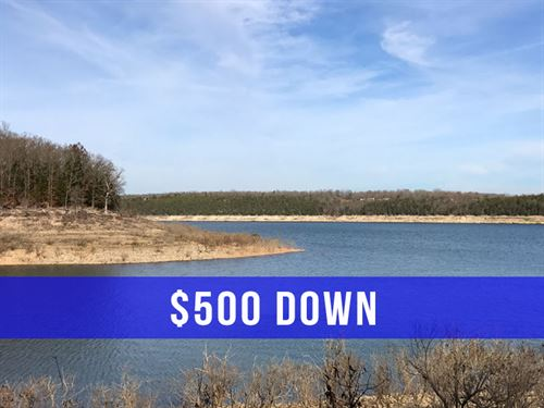 $500 Down On Land At Bull Shoals : Cedarcreek : Taney County : Missouri